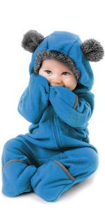 Cuddle Club Mono Polar Beb/é para Reci/én Nacidos a Ni/ños 4 A/ños Pijamas Infantiles Chaqueta de Invierno Abrigo Polar Ni/ño Mono de Ni/ños