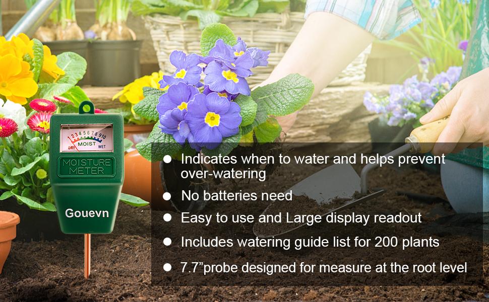 Plant Water Meter Indoor Outdoor