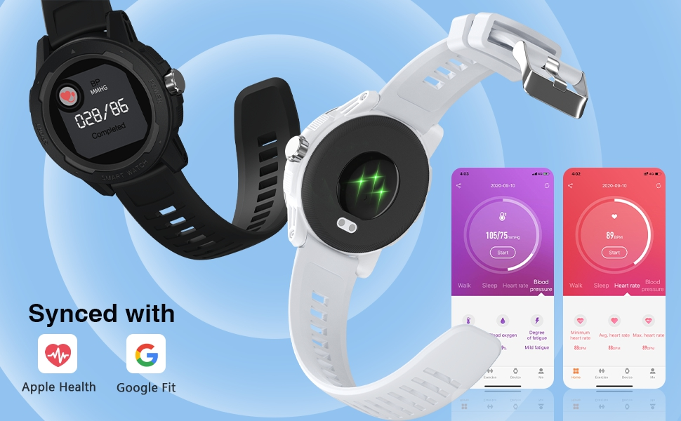 heart rate monitor blood pressure oxygen measuring