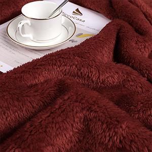 Soft Warm Teddy Sherpa Blanket
