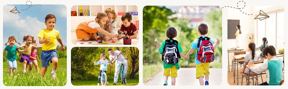 Sprint Kids Junior Touch Fastening Sports Trainers