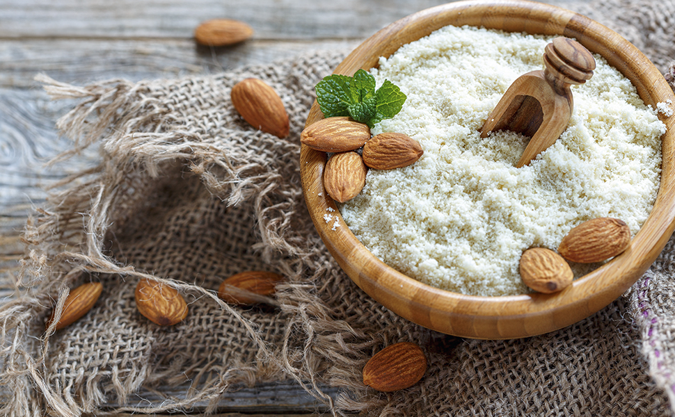 NUEATS co. Almond Meal / Flour/ Powder Blanched- 400gm: Amazon.in: Grocery  & Gourmet Foods