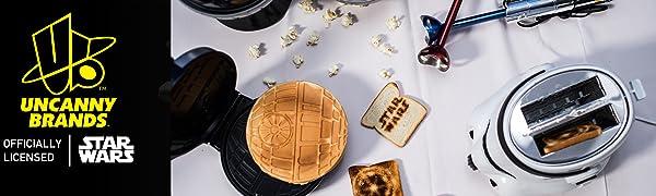 Uncanny Brands Stormtrooper Star Wars Waffle Maker Banner