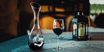 rode wijn karaffen