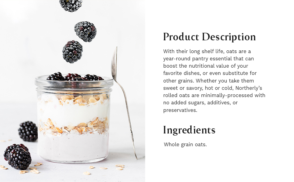 granola, disclaimer, product description