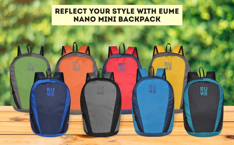 EUME Multi-color backpack colorful bags for kids compact bags for kids smart bags for office stylish