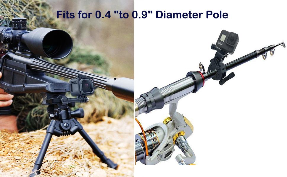 Amazon.com: VGSION Sportsman Camera Clamp Gun/Rod/Bow