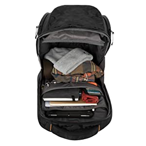 heavy duty hiking daypacks camping traveling tactical storage laptop sleeve men padded compartment