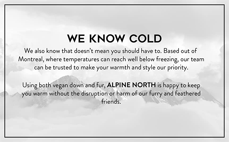 alpine north about products