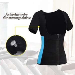 damen waist trainer fitness tops