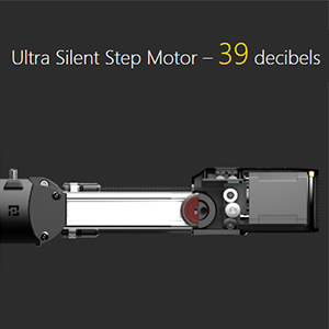 Ultra Silent Step Motor – 39 decibels