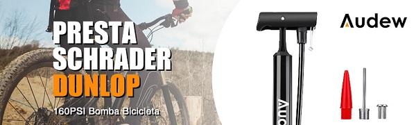 Details about  /Bomba De Suelo Para Bicicletas Mantente Seguro De Pinchazos Y Evita Accidentes