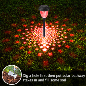solar pathway light color changing7