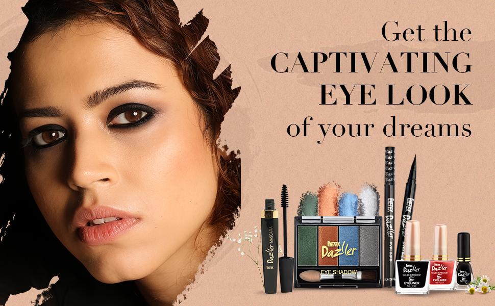 Dazller Mascara, Dazller Eyeliner, Eyelook, Eyetex Dazller Mascara