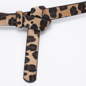 small leopard belt