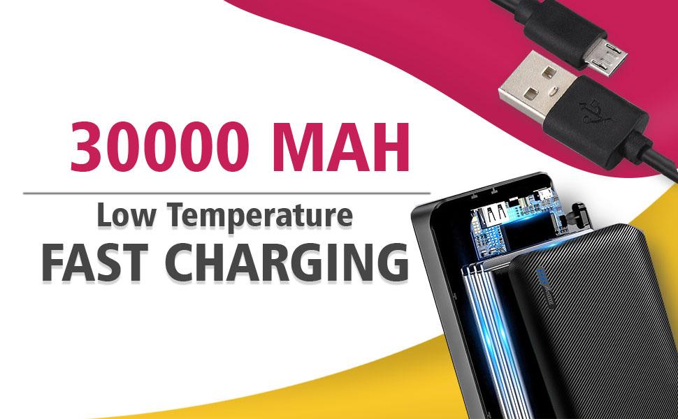 UBON 30000 mAh Powerbank PB-X33 SPN-FOR1