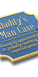 Daddy's man cave