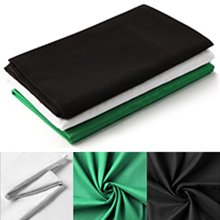 green screen 3 colors 2x3M backdrop (black, white and green