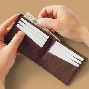 wallet cork
