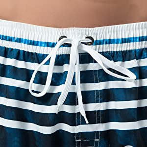 Men/'s Summer Striped Swimwear Swimming Bikini Beach Shorts Trunks Stylish K310