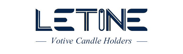LETINE vOTIVE CANDLE HOLDERS