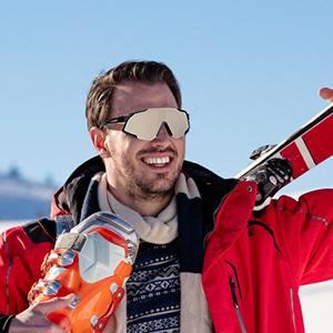 GARDOM Gafas de Ciclismo Hombres Mujeres, Gafas de Sol Deportivas con 5 Lentes Intercambiable para Correr Pescar Escalar Esquiar Vacaciones: Amazon.es: Deportes y aire libre