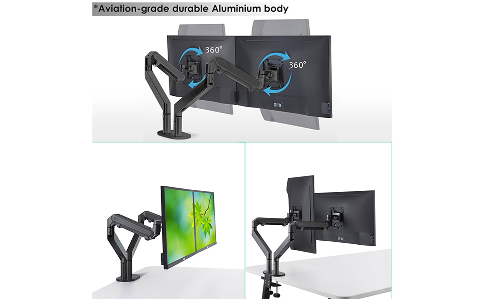 multiple monitor desk stand