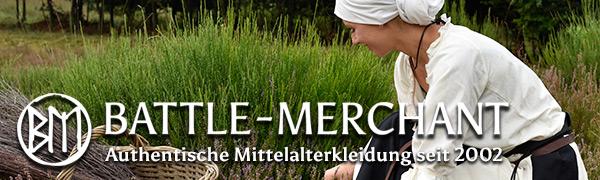 Mittelalter Battle-Merchant Accessoires Zubehör hippie ethno wikinger groß schnur schließen