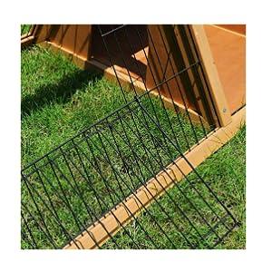 EUGAD Conejera de Exterior Madera Casa para Conejos Cobayas ...