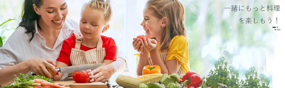 切れ味と美しさを兼備の牛刀は、本職の方だけでなく、道具にこだわりのある方、料理好きな方、料理教室に通っておられる方にもお勧めです。