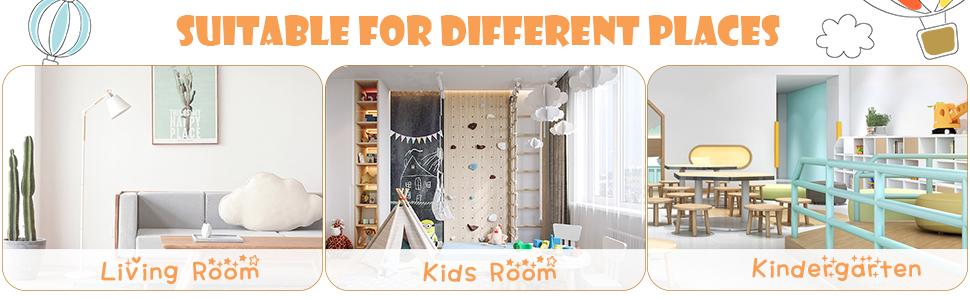 children sofa for kids room, kindergarten, school, home, living room