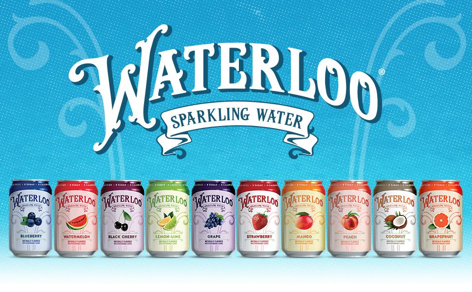 waterloo sparkling water flavor fruit delicious
