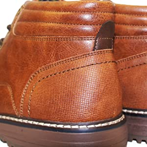 mens tan boots lace up casual formal