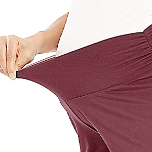women maternity summer lounge shorts
