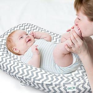 baby lounger pillow for newborn
