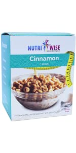 cereal cinnamon breakfast high protein low calorie medical grade weight loss doctor healthy