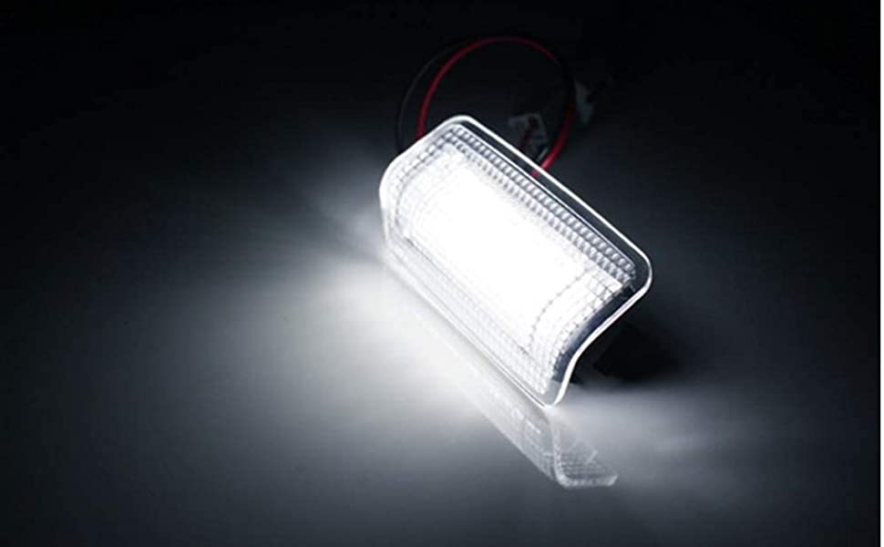 iJDMTOY (2) Full LED Side Door Courtesy Light Assy Compatible W/ Lexus IS ES GS LS RX GX Toyota, etc