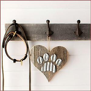 BarnwoodUSA Rustic Heart Decor