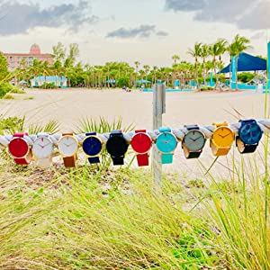 Maro Cevalo watch colors