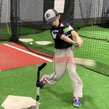 Practice your hitting