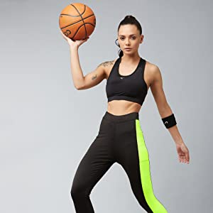 mesh fitness tights