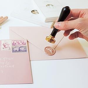 Christmas gift kit wax seal stamp sealing wax for beginner wedding invitation santa merry christmas