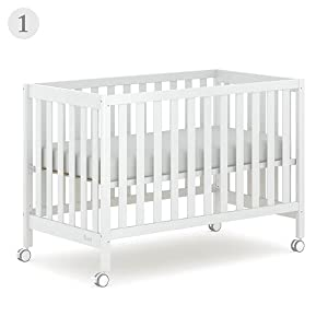 Boori Heron Compact Cot in high position