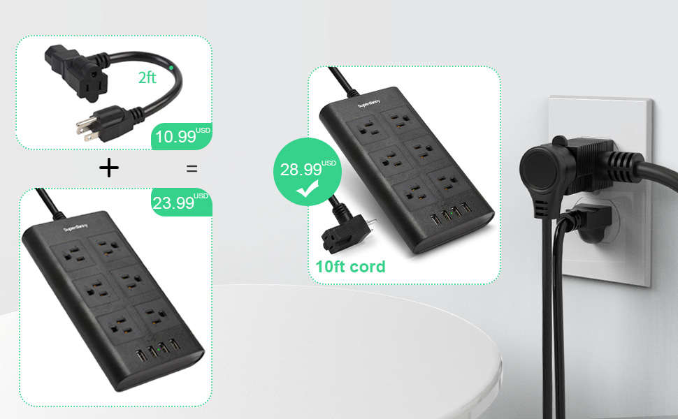 piggyback power outlet extension block for home, office working.