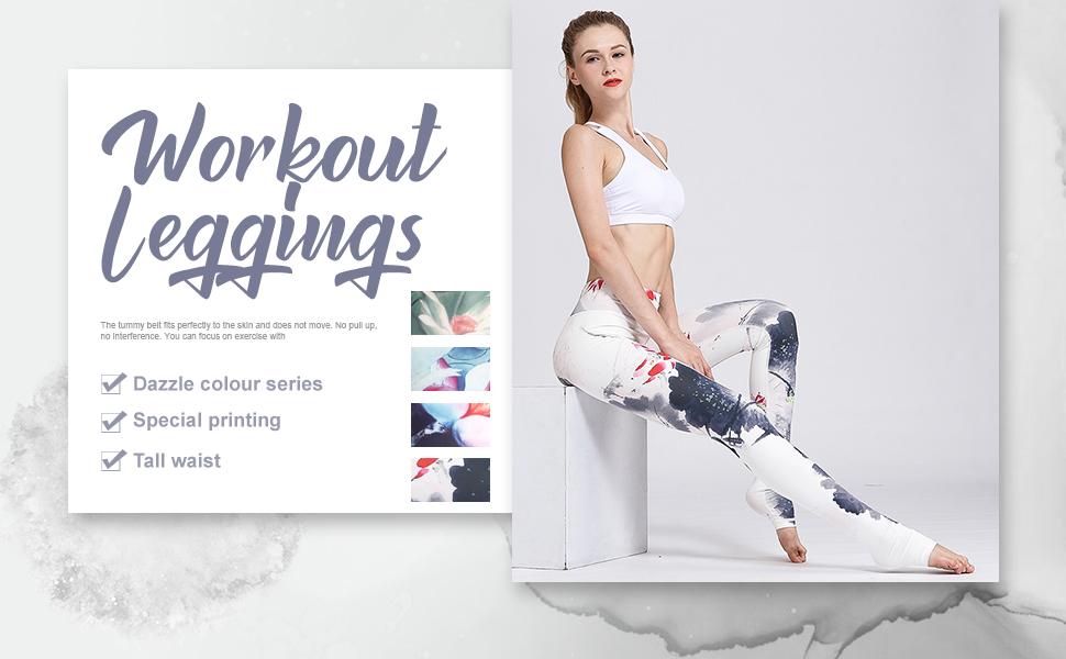 Yoga leggings womens leggings high waisted leggings for women