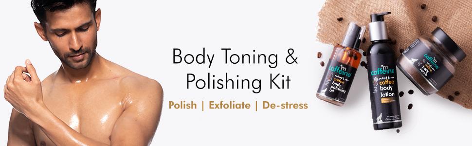 body toning polishing kit polish exfoliate destress