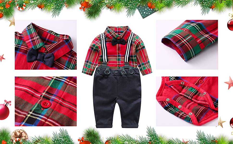 Christmas outfit for toddler boy