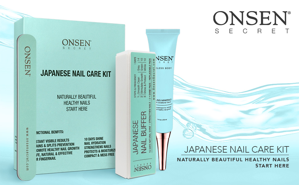 Japanese Nail Care Kit File Buffer Block Cuticle Cream Replacement Pads Travel Size Nail Care Kit