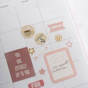 Essential Planner stickers
