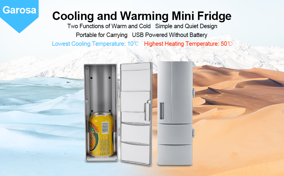 Portable Mini USB Fridge